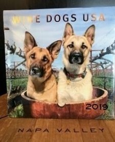 Accessory-Wine Dogs 2019 Calendar Image