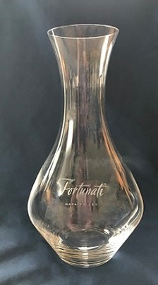 Accessory-Etched Riedel Crystal Decanter